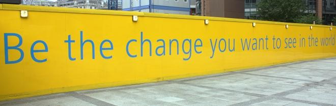 Be the Change, Feggy Art, Flickr