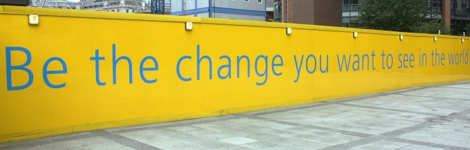 Be the Change, Feggy Art, Flickr