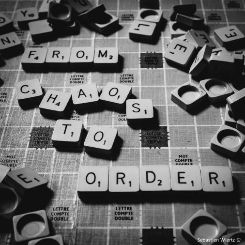 From Chaos to Order, Sebastien Wiertz, Flickr