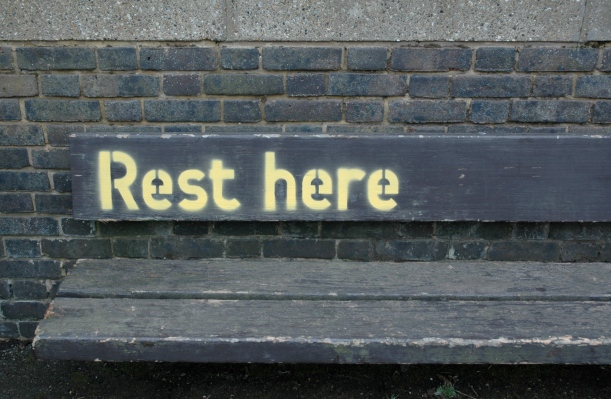 Rest Here, Esther Simpson, Flickr