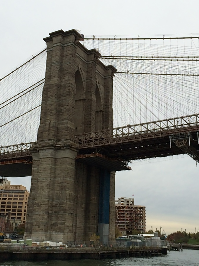 Brooklyn Bridge from the East River