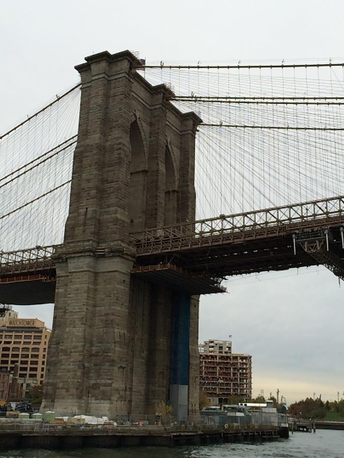 Brooklyn Bridge from the East River
