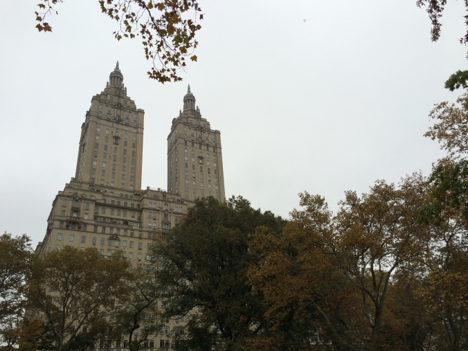 Upper West Side from Central Park