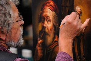 Artist at work_Jean-Francois Phillips