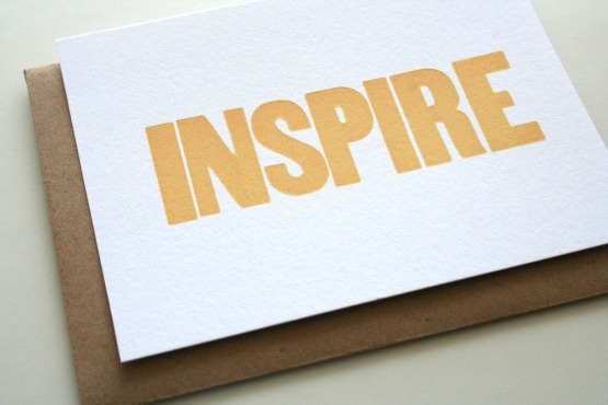 inspire, by Sarah Parrott, Flickr