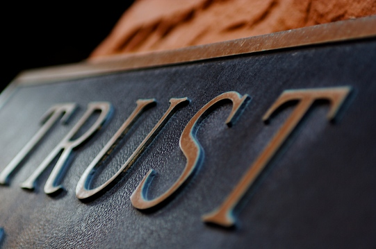 Trust, by Terry Johnston, Flickr