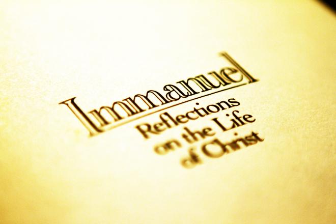 Immanuel, by Daniel Go, Flicker